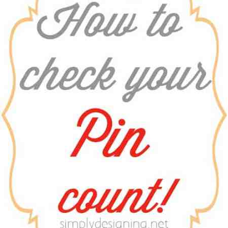 How to Check Your Pin Count – SIMPLY!