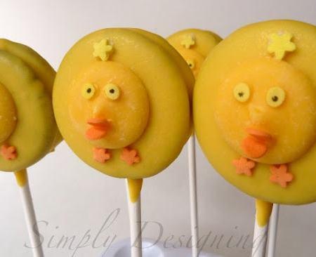 Spring Chick Oreo Pops