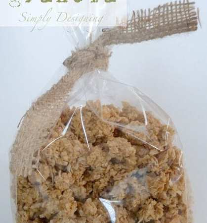 Homemade Coconut Granola