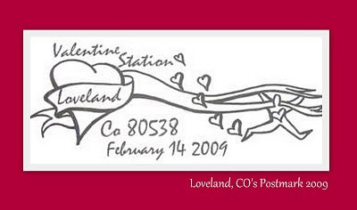 Postmarked with Love (from Loveland!)