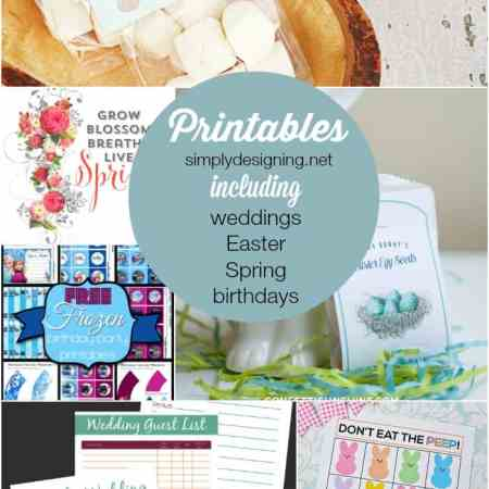 The Best Wedding, Easter, Spring and More Printables