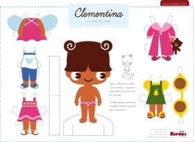 Paper doll FREE Printables!
