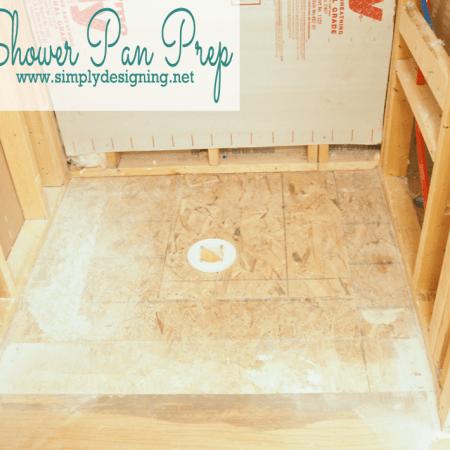 Master Bathroom Remodel: Part 3 { Prep for Shower Remodel }