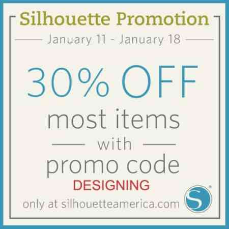 Save 30% off at Silhouette