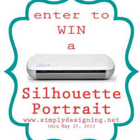SIlhouette Giveaway and May Promotion + Simple Hair Flowers