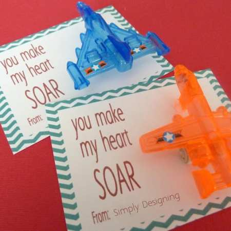 You Make My Heart SOAR Valentine {Free Printable}