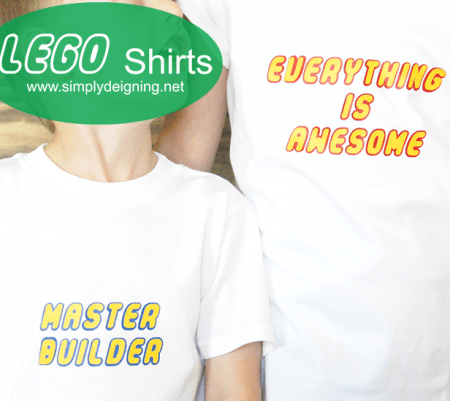 DIY Lego Shirt
