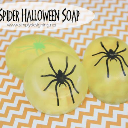 DIY Halloween Soap