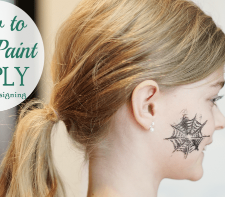 How to Face Paint – Simply!