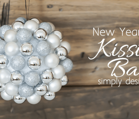 New Year's Eve Kissing Ball