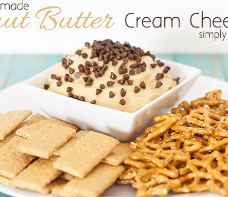 Homemade Peanut Butter Cream Cheese Dip
