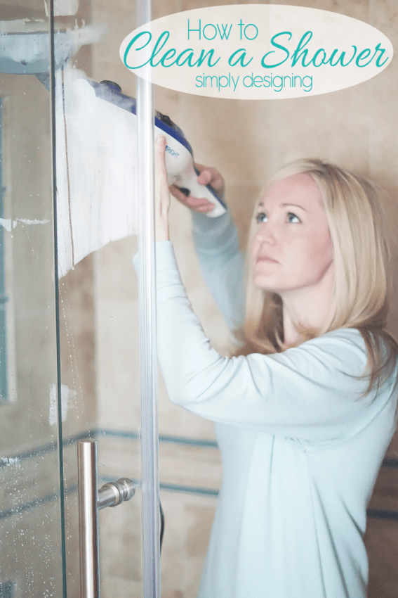 How to Clean a Shower with a Steamer