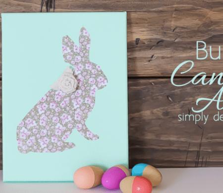 DIY Bunny Canvas