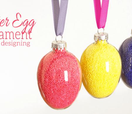 Easter Egg Ornament Gift Idea