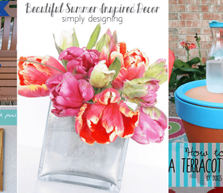 11 Beautiful Summer Inspired Decor Ideas