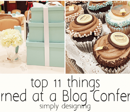 Top 11 Things I Learned at a Blog Conference