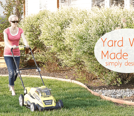 Lawn mowing made easy…and enjoyable