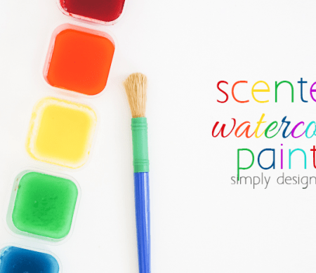 Scented Watercolor Paints