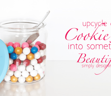 How to Upcycle a $3 Cookie Jar into Something Beautiful