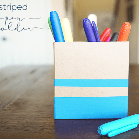 Striped Pen Holder – decoart