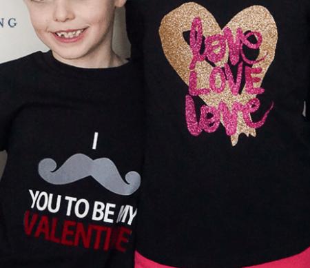 DIY Valentines Day Shirts