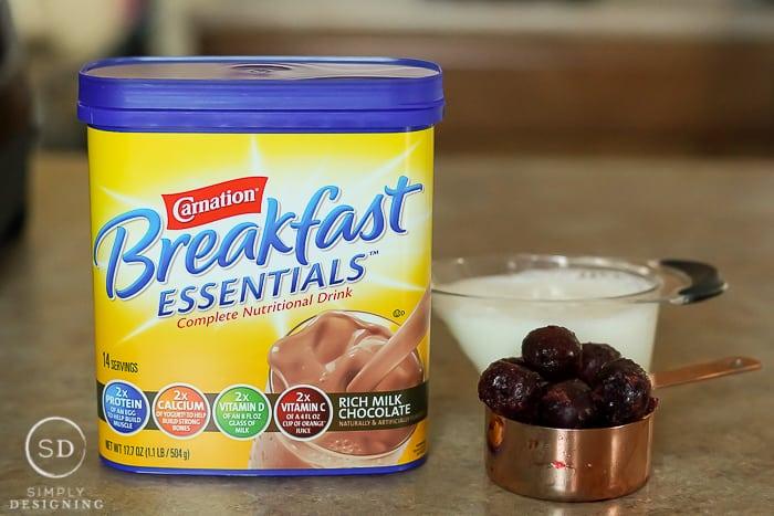 Chocolate Milk Smoothie Peanut Butter