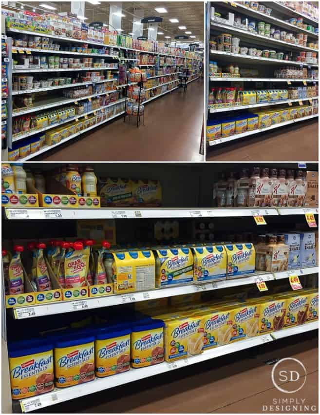 grocery store-