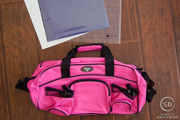 dance bag personalization supplies
