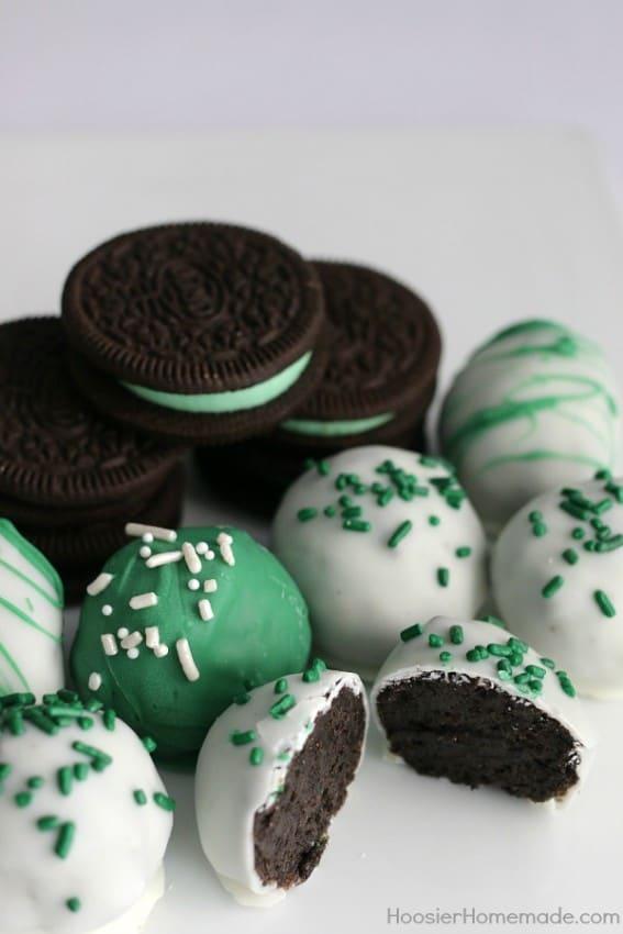 Homemade Oreo Cookies With Cake Mix