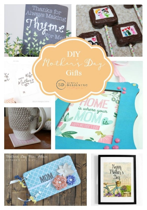 DIY Mother's Day Gifts Collage Pinnable