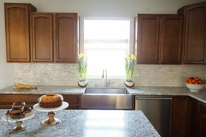 Kitchen Remodel The Final Reveal: Kitchen Remodel Reveal + How To Install A Kitchen Cabinet