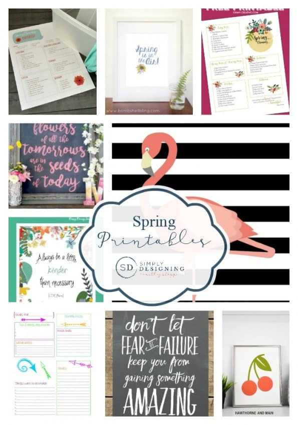 Spring Printables Round Up Pinnable Final