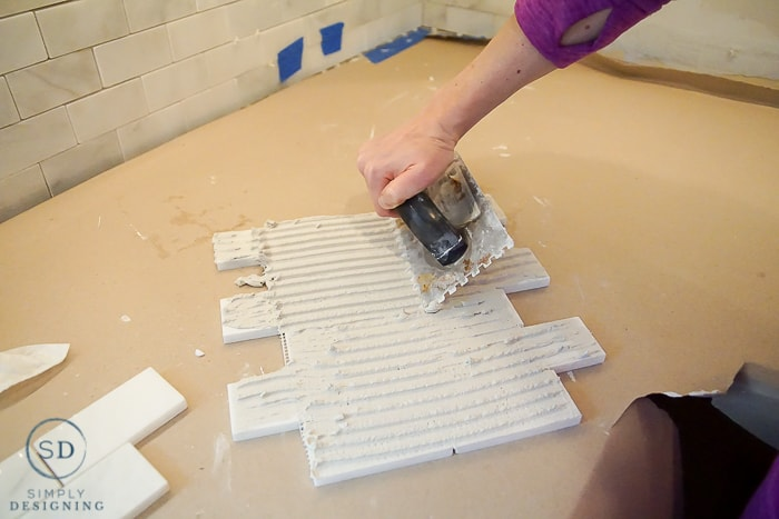 install tile backsplash