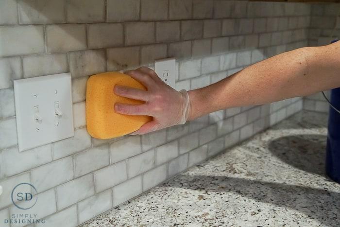 apply sealer to tile