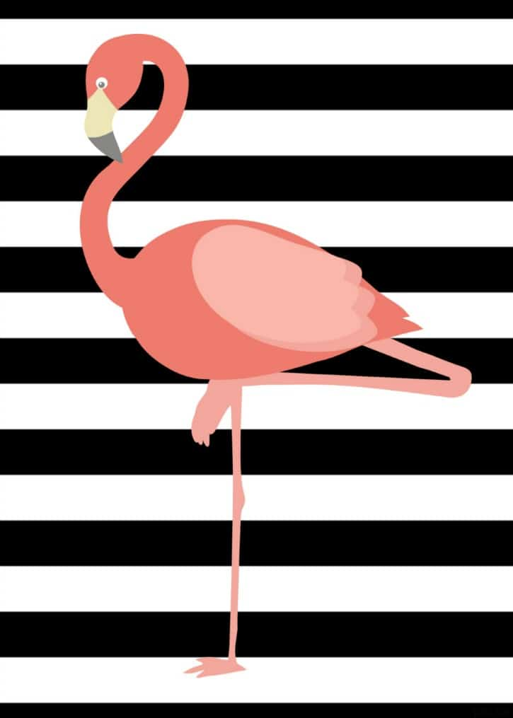 flamingo-printable