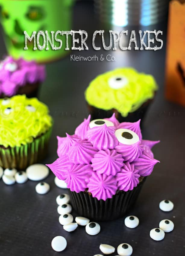 Monster Cupcakes by Kleinworth and Co.