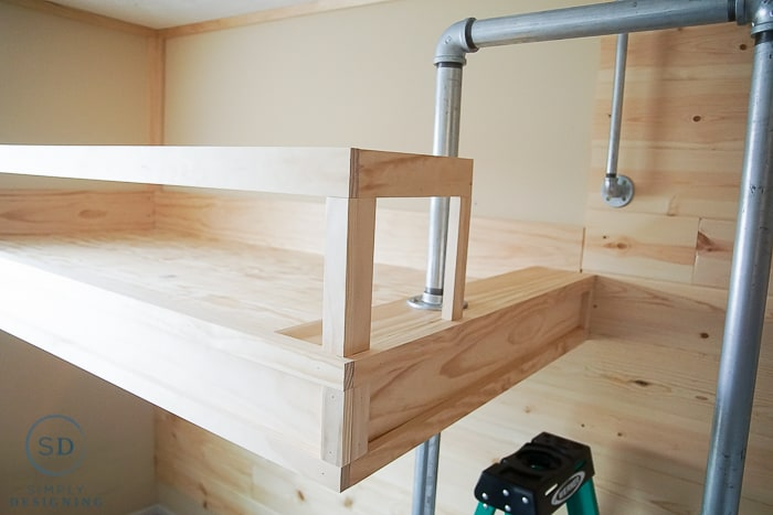 How to Build an Industrial Loft Bed