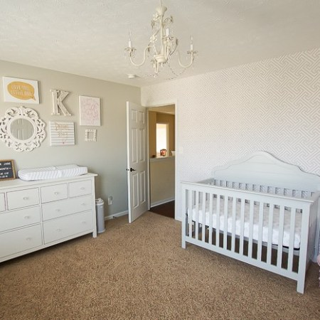 Shared Girls Bedroom and Baby Nursery Reveal