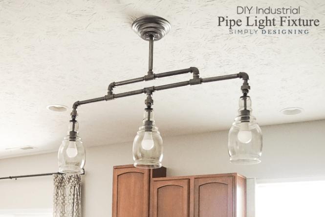 Diy Pipe Light Fixture