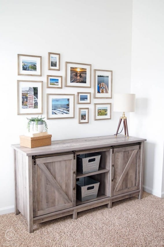 Farmhouse Office Makeover with Farmhouse Furniture and