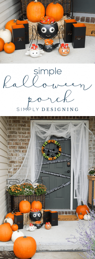 Easy Outdoor Halloween Decorations for your Porch - Easy Halloween Porch