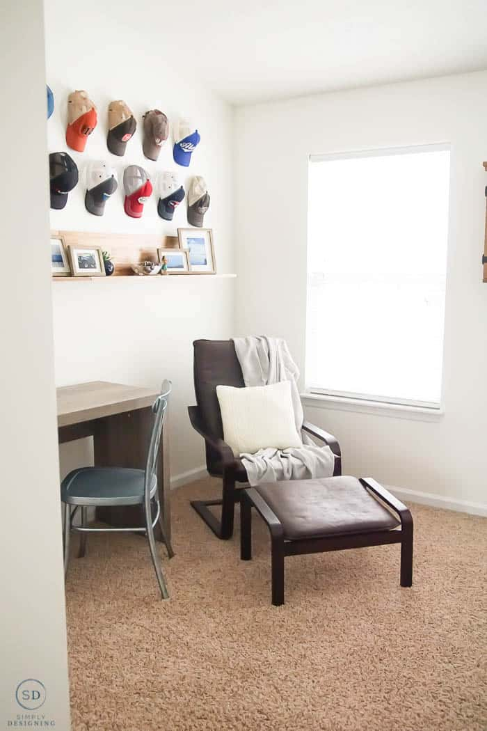 Decorating a Mans Office with Farmhouse Design