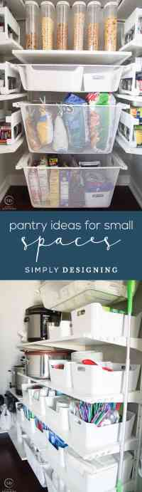 How to Organize a Closet Under the Stairs & Pantry ...