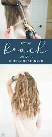 easy beach waves long hair