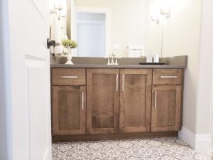 ideas and inspiration - bathroom vanity and floor