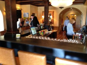 Luna Vineyards Dog Friendly Wineries Tasting Bar Simply Driven