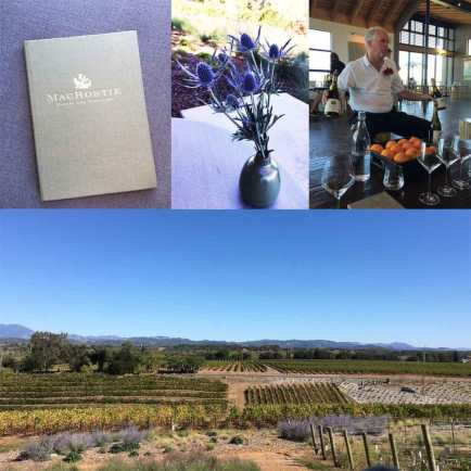 MacRosite Winery Tours Simply Driven Collage