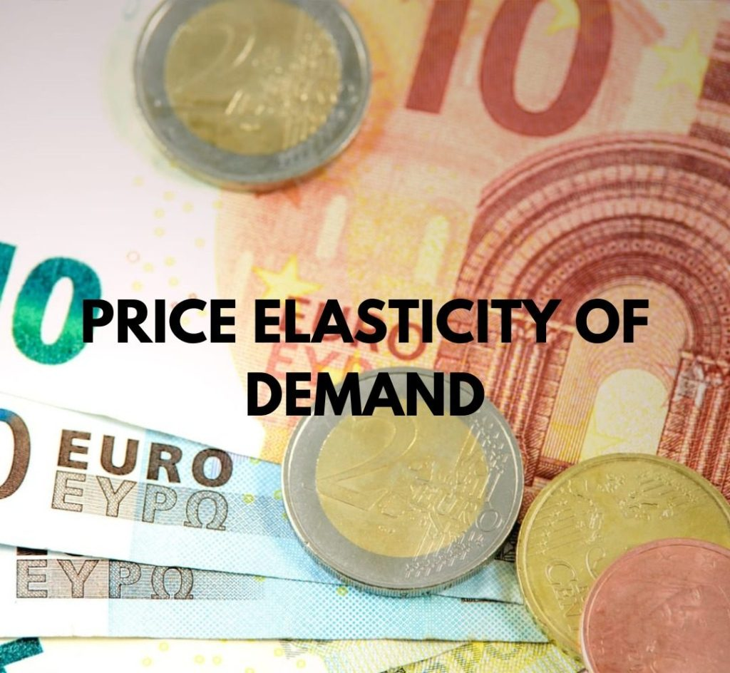 price elasticity of demand, PED, elasticity, elastic, demand