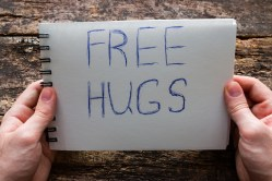 Hugs are free!