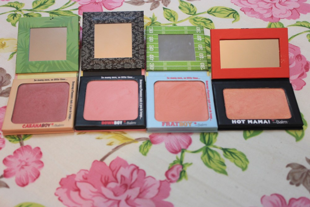 My Blush Collection featuring TheBalm's Boys and Hot Mama (3/6)